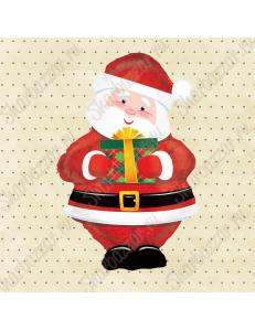Фигура Санта с подарком