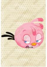 Фигура Angry Birds (розовая)