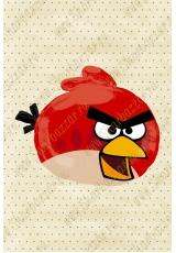 Фигура Angry Birds (красная)