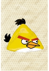 Фигура Angry Birds (желтая)