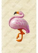 "Фигура ""Розовый Фламинго"""