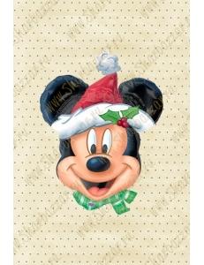 Фигура голова Микки Санта