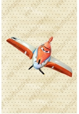 Шар ходячий Самолет Дасти