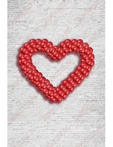 """Фигура из шаров """"Сердце"""""""