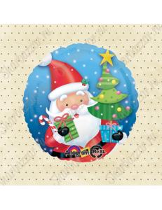 Круглый шар Санта