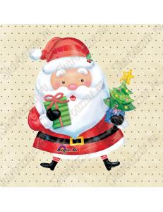 Фигура Санта с ёлкой