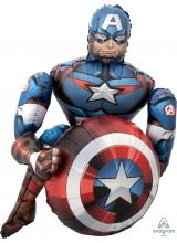 Шар ходячий Капитан Америка
