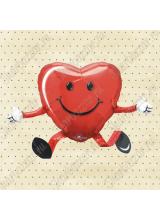 Шар ходячий Сердце