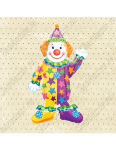 Шар ходячий Клоун