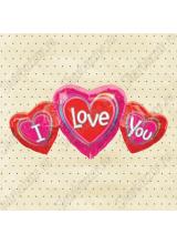 Фигура Три сердца I LOVE YOU
