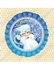 Круглый шар Дед Мороз