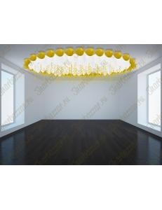 """Фигура из шаров """"Воздушный потолок"""""""