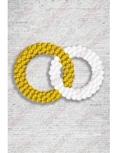 """Фигура из шаров """"Обручальные кольца"""""""